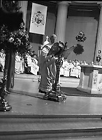 Episcopal Ordination Of Desmond Connell. (R74).1988..06.03.1988..03.06.1988..6th March 1988..Following the death of Archbishop Kevin McNamara in April '87, Pope John Paul II surprisingly nominated Desmond Connell for the position of Archbishop of Dublin. The ordination of Dr Connell took place at the Pro-Cathedral in Dublin.