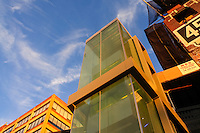 Elevator, The High Line is a New York City park, designed by landscape architects James Corner Field Operations, with architects Diller Scofidio + Renfro, Manhattan, New York, USA