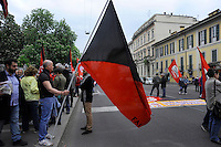 Milano, 25 Aprile 2015, Manifestazione per il 70&deg; anniversario della Liberazione dal nazifascismo.<br /> Milan, April 25, 2015, Demonstration for the 70th anniversary of liberation from fascism.