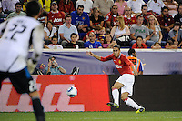 Chris Smalling (12) of Manchester United. Manchester United defeated the MLS All-Stars 4-0 during the MLS ALL-Star game at Red Bull Arena in Harrison, NJ, on July 27, 2011.
