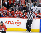 ?, Dustin Tokarski (Canada - 30), ?, ?, Cody Goloubef (Canada - 17), ?, ?, Alex Pietrangelo (Canada - 10), Ryan Ellis (Canada - 8) - Canada defeated Kazakhstan 15-0 on Sunday, December 28, 2008, at Scotiabank Place in Kanata (Ottawa), Ontario, during the 2009 World Junior Championship.