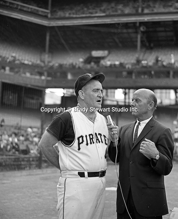 Pittsburgh PA:  Danny Murtaugh, the manager of the Pittsburgh Pirates for 15 seasons.  Let the Pirates to 2 world series titles and 4 Eastern division titles - 1965