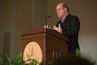 20150115 Salman Rushdie Speaks At UVM Ira Allen Chapel