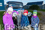 Kingdom Veteran Vintage & Classic Car Club held a rally in aid of Ballybunion Health & Leisure Centre on Sunday. Pictured Kayleigh, Cian and Aoife Fitzgerald from Ballybunion enjoying the 1935 Vauxhall 146