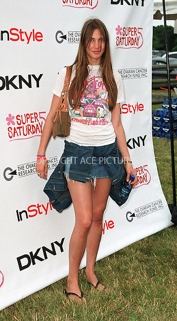"""Jessica Miller at the Fifth Annual """"Super Saturday"""" designer sale and family event to benefit the ovarian cancer research fund. Water Mill, Long Island. July 27, 2002. Please byline: Alecsey Boldeskul/NY Photo Press.   ..*PAY-PER-USE*      ....NY Photo Press:  ..phone (646) 267-6913;   ..e-mail: info@nyphotopress.com"""