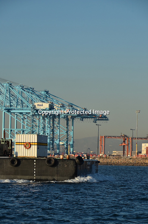 Stock photo of Ocean Barge