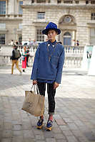 Yu Masui at London Fashion Week