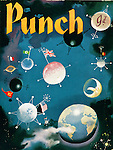 PUNCH 1950s Front Cover Cartoons