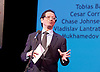 The Critics' Circle National Dance Awards 2016 <br /> at the Lilian Baylis Studio, Sadler's Wells, London, Great Britain <br /> <br /> 6th February 2017 <br /> Charles Phu from<br /> the Office for Architectural Culture presents...<br /> <br /> Cesar Corrales <br /> as Ali in Le Corsaire for English National Ballet <br /> WINNER Outstanding Male Performance Classical <br /> sponsored by the Office for Architectural Culture <br /> <br /> Photograph by Elliott Franks <br /> Image licensed to Elliott Franks Photography Services