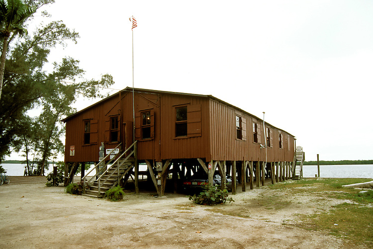 FL: Florida Everglades National Park,.historic Smallwood store, exterior..Photo Copyright: Lee Foster, lee@fostertravel.com, www.fostertravel.com, (510) 549-2202.Image: flever214