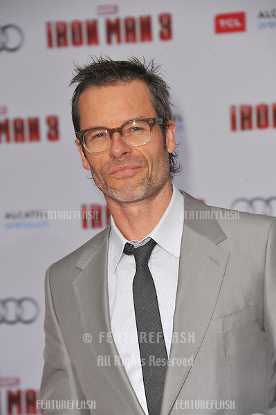 "Guy Pearce at the Los Angeles premiere of his movie ""Iron Man 3"" at the El Capitan Theatre, Hollywood..April 24, 2013  Los Angeles, CA.Picture: Paul Smith / Featureflash"