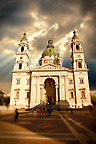 St Stephen's Basilica, ( Szent Istvan Bazilika ) , Neo Classical building, Budapest, Hungary
