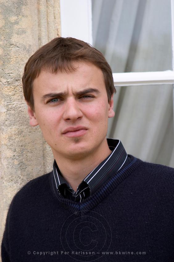 Joachim Gilbert, winemaker vineyard manager chateau la garde pessac leognan graves bordeaux france