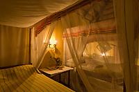 Bedroom in the Ndali Lodge, Uganda, East Africa