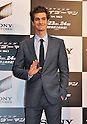 "Andrew Garfield, June 13, 2012 : Tokyo, Japan :Actor Andrew Garfield attends the world premiere for the film ""The Amazing Spider-Man"" in Tokyo, Japan, on June 13, 2012. The film will open on June 30 in Japan."