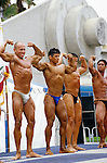 Body Building Competition, at Muscle Beach in Venice Beach, CA