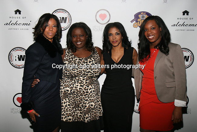 Row Lawson, Kelley Carter, Al Jazeera America Anchor and Honoree RICHELLE CAREY, Al Jazeera America Producer Brittany Cummings Attend DJ Jon Quick's 5th Annual Beauty and the Beat: Heroines of Excellence Awards Honoring AMBRE ANDERSON, DR. MEENA SINGH,<br />