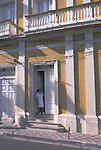 Female Domestic in Doorway - Granada, Nicaragua