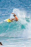 February 18th 2010.  Coco Ho (HAW)  Free surfing at Snapper Rocks, Coolangatta, Queensland, Australia.Photo: Joliphotos.com