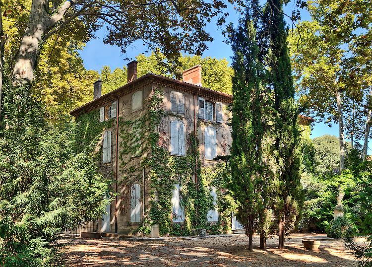 C zanne family house the jas de bouffan phil haber - Residence les jardins d arcadie aix en provence ...