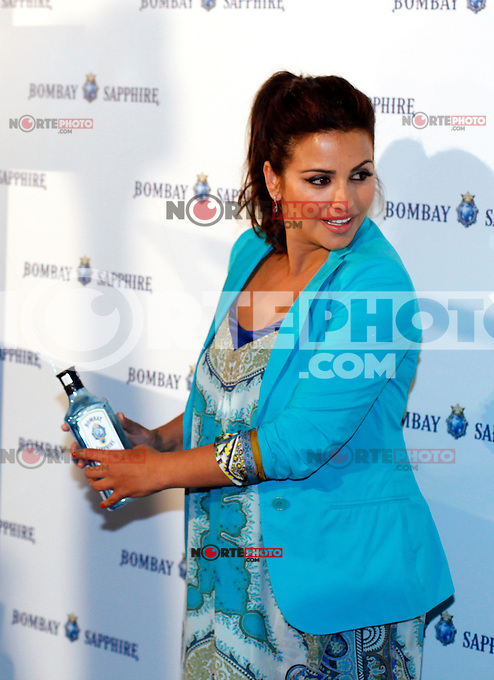 Actress Monica Cruz presents the Bombay Sapphire summer, the gin brand will promote their roducts along the spanish beaches during the summer. June 5, 2013. (Victor J Blanco/Alterphotos) /nortephoto