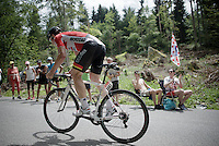 Andr&eacute; Greipel (DEU/Lotto-Soudal) coming up<br /> <br /> Stage 18 (ITT) - Sallanches &rsaquo; Meg&egrave;ve (17km)<br /> 103rd Tour de France 2016