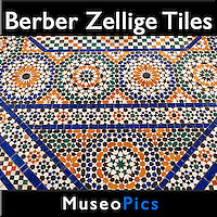 Museopics - Zellige Berber Tile Mosaics Photos, Pictures and Images