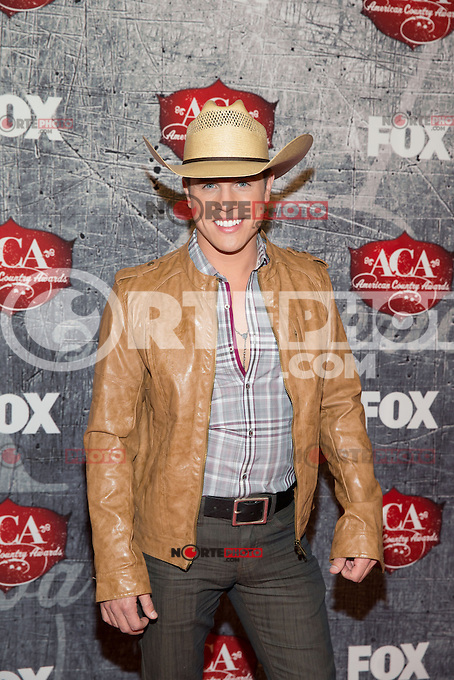 LAS VEGAS, NV - December 10 : Dustin Lynch pictured arriving at 2012 American Country Awards at Mandalay Bay Resort on ecember 10, 2012 in Las Vegas, Nevada.  Credit: Kabik/ Starlitepics/MediaPunch Inc. /NortePhoto© /NortePhoto /NortePhoto
