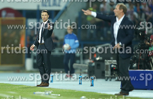 13.10.2014, Stadion Gradski vrt, Osijek, CRO, UEFA Euro Qualifikation, Kroatien vs Aserbaidschan, Gruppe H, im Bild Niko Kovac // during the UEFA EURO 2016 Qualifier group H match between Croatia and Azerbaijan at the Stadion Gradski vrt in Osijek, Croatia on 2014/10/13. EXPA Pictures &copy; 2014, PhotoCredit: EXPA/ Pixsell/ Igor Kralj<br /> <br /> *****ATTENTION - for AUT, SLO, SUI, SWE, ITA, FRA only*****