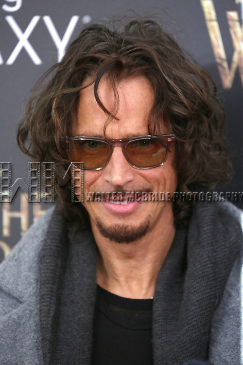 Chris Cornell attends the 'Into The Woods' World Premiere at Ziegfeld Theater on December 8, 2014 in New York City.