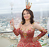Dick Whittington <br /> publicity pictures <br /> taken from The View From The Shard, London Bridge Quarter, London, Great Britain <br /> press photocall <br /> 17th November 2016 <br /> <br /> <br /> <br /> Arlene Phillips as Fairy Bowbells <br /> <br /> <br /> Photograph by Elliott Franks <br /> Image licensed to Elliott Franks Photography Services