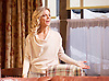 Sex with Strangers <br /> by Laura Eason<br /> Directed by Peter DuBois<br /> at the Hampstead Theatre, London, Great Britain <br /> 1st February 2017 <br /> press photocall <br /> <br /> <br /> Emilia Fox as Olivia<br /> <br /> <br /> <br /> <br /> Photograph by Elliott Franks <br /> Image licensed to Elliott Franks Photography Services