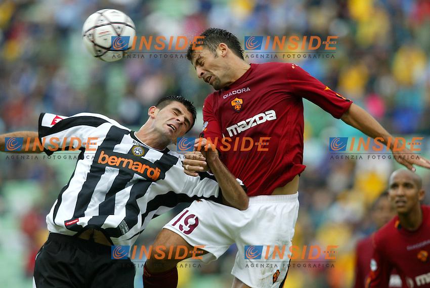 UDINE 31/08/2003<br /> PRIMA DI CAMPIONATO SERIE A<br /> UDINESE ROMA 1-2<br /> Walter SAMUEL<br /> Foto Insidefoto