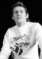 Andy Mackay performing in 1973 Credit: Ian Dickson / MediaPunch