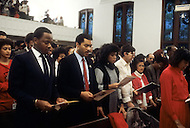 Atlanta, Georgia, U.S.A, 15 January, 1987. The 58th birthday memorial of Martin Luther King.
