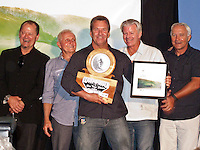 PETER 'PT' TOWNSEND (AUS), BOB McTAVISH (AUS), GARY 'KONG' ELKERTON (AUS)  who was inducted into the Hall of Fame, WAYNE 'RABBIT' BARTHOLMEW (AUS) and ROD BROOKS (AUS)  at the Australian Surfing Awards incorporating The Hall Of Fame, Tuesday March 3rd 2009  held at Twin Towns, Coolangatta, Queensland, Australia,   Photo: joliphotos.com