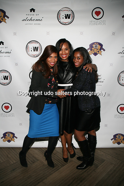 Guests and Dana Whitfield At  DJ Jon Quick's 5th Annual Beauty and the Beat: Heroines of Excellence Awards Honoring AMBRE ANDERSON, DR. MEENA SINGH,<br /> JESENIA COLLAZO, SHANELLE GABRIEL, <br /> KRYSTAL GARNER, RICHELLE CAREY,<br /> DANA WHITFIELD, SHAWN OUTLER,<br /> TAMEKIA FLOWERS Held at Suite 36, NY
