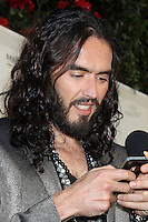LOS ANGELES - JUN 26:  Russell Brand arrives at the FX Summer Comedies Party at Lure on June 26, 2012 in Los Angeles, CA
