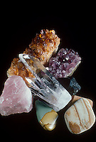 QUARTZ COLOR VARIETIES (SiO2)<br />