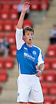 St Johnstone FC Season 2012-13.Ally Gilchrist.Picture by Graeme Hart..Copyright Perthshire Picture Agency.Tel: 01738 623350  Mobile: 07990 594431