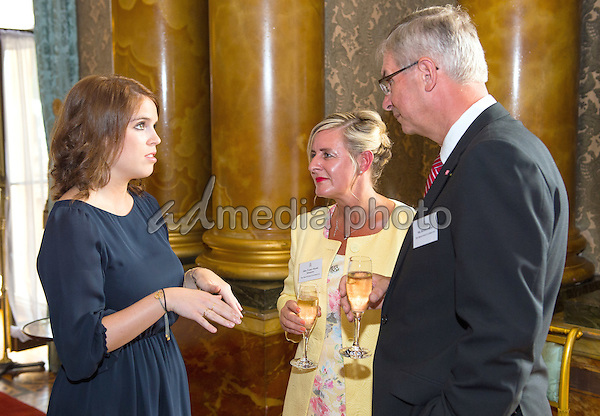 14 July 2015 - London, England - Reception for winners of the Queen's Awards for Enterprise 2015, at Buckingham Palace, London. Photo Credit: Alpha Press/AdMedia