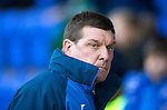 St Johnstone v Aberdeen&hellip;22.04.16  McDiarmid Park, Perth<br />Tommy Wright<br />Picture by Graeme Hart.<br />Copyright Perthshire Picture Agency<br />Tel: 01738 623350  Mobile: 07990 594431