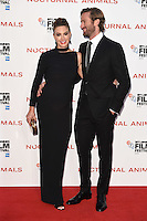 LONDON, UK. October 14, 2016: Armie Hammer &amp; wife Elizabeth Chambers at the London Film Festival 2016 premiere of &quot;Nocturnal Animals&quot; at the Odeon Leicester Square, London.<br /> Picture: Steve Vas/Featureflash/SilverHub 0208 004 5359/ 07711 972644 Editors@silverhubmedia.com
