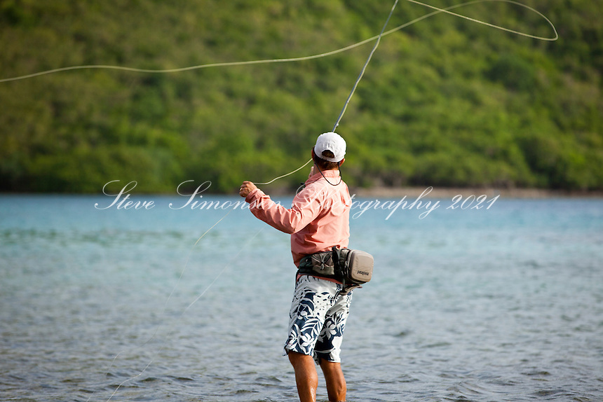 Arthur jones of arawak expeditions flyfishing steve for Virgin islands fishing