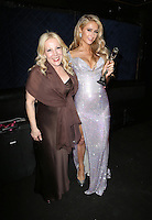 Hollywood, CA - February 19: Michele Elyzabeth, Paris Hilton At 3rd Annual Hollywood Beauty Awards_Inside, At Avalon Hollywood In California on February 19, 2017. Credit: Faye Sadou/MediaPunch
