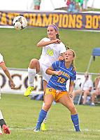 Girls JV Gold Soccer vs. Carmel 8-23-14