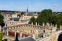 Oxford University, view from St. Mary the Virgin