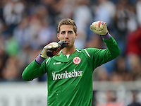 FUSSBALL  1. BUNDESLIGA  SAISON 2012/2013  2. SPIELTAG    01.09.2012 TSG 1899 Hoffenheim  - Eintracht Frankfurt JUBEL Torwart Kevin Trapp (Eintracht Frankfurt)