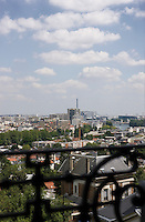 Although it feels like a country house there are stunning views of Paris all round with the Eiffel Tower in the distance