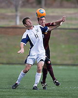 The Winthrop University Eagles played the UNC Wilmington Seahawks in The Manchester Cup on April 5, 2014.  The Seahawks won 1-0.  Jamie Dell (11)